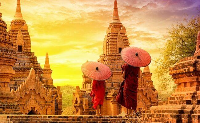 tourist attractions in myanmar