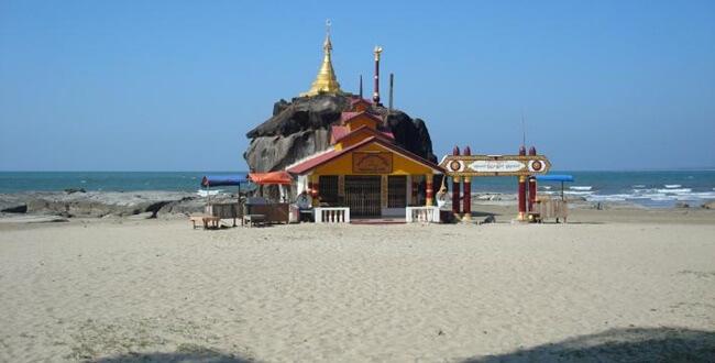 beaches in myanmar 2
