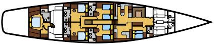 SY Clan VI deck plan