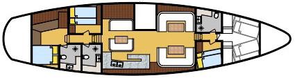 SY Jubilaeum deck plan