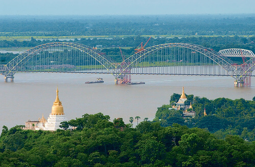 best time for cruise in Irrawaddy river