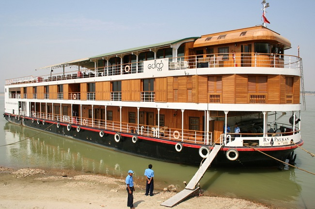 Suggestion of Best Ships for Sailing on Chindwin, Myanmar 9