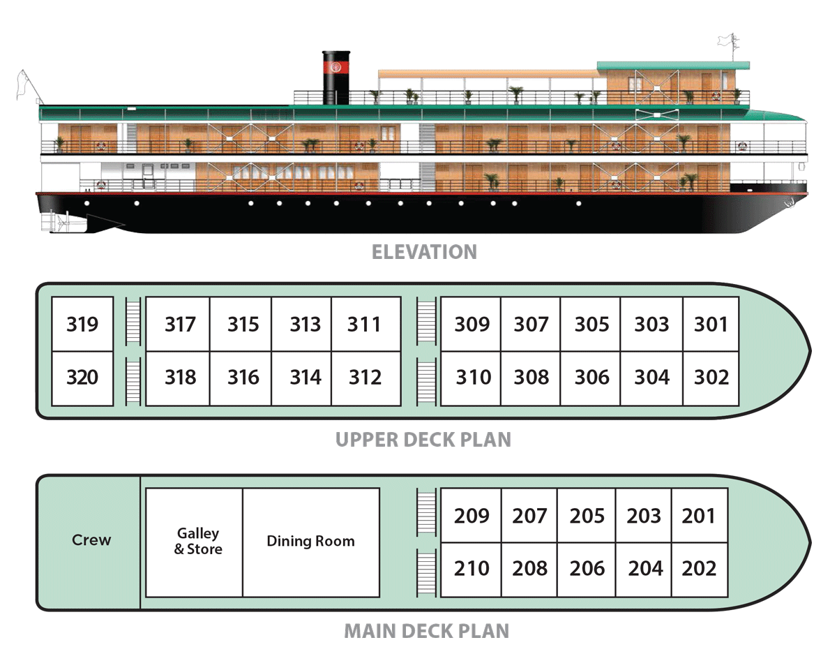 rv indochina pandaw deck plan