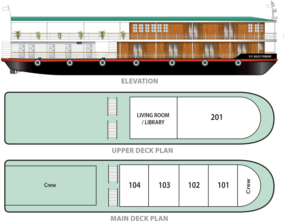 rv kalay pandaw deck plan