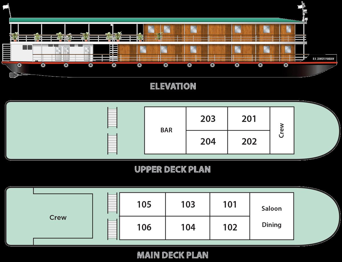 rv zawgyi pandaw deck plan